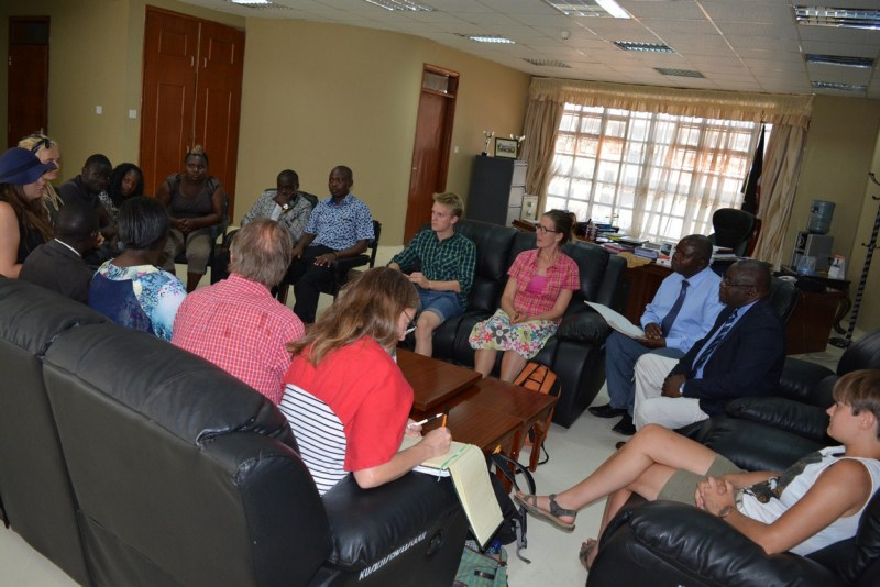 Courtesy Call by the Swedish Youth Forward Project