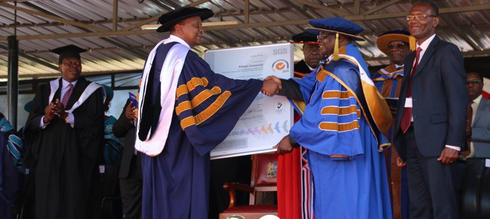 Award of ISO