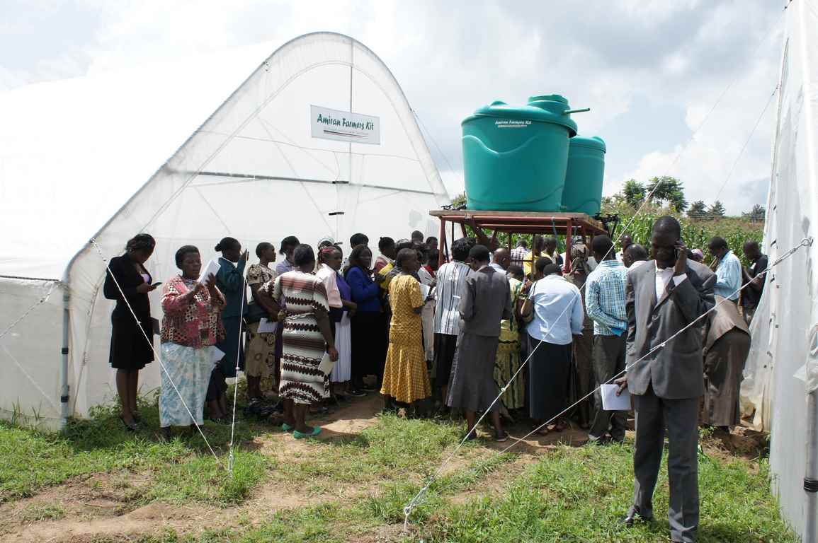 Bungoma Farmers Training Workshop on the Modern Farming Technology