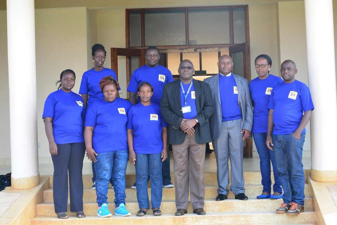 Kibabii University Staff Fitness Team