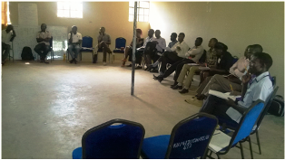 Kibabii University Shuga Facilitators