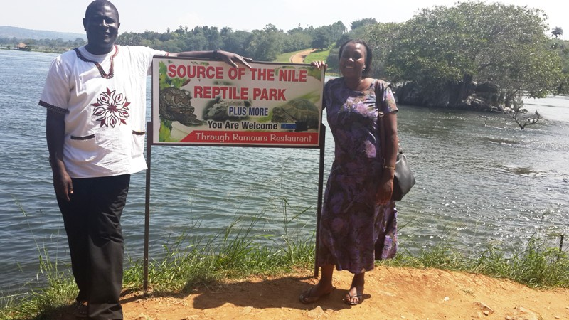At the Source of River Nile