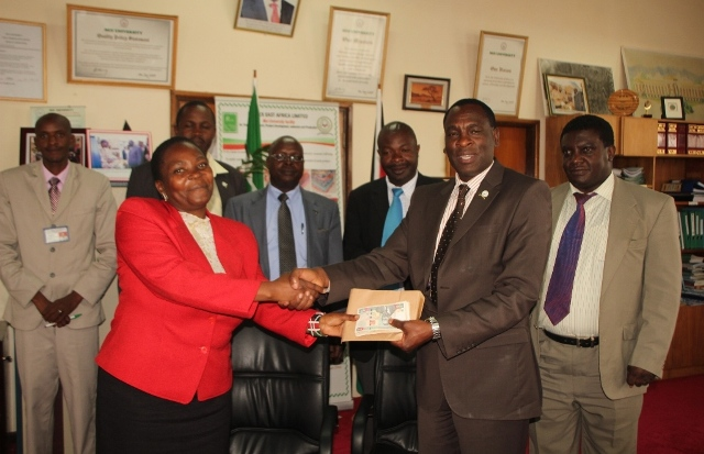 KIBU Donations to Garissa University College