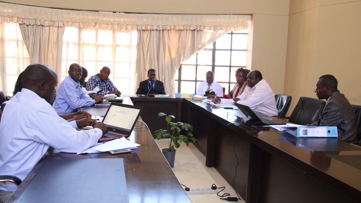 Kibabii University Meets Turkana University College Representatives