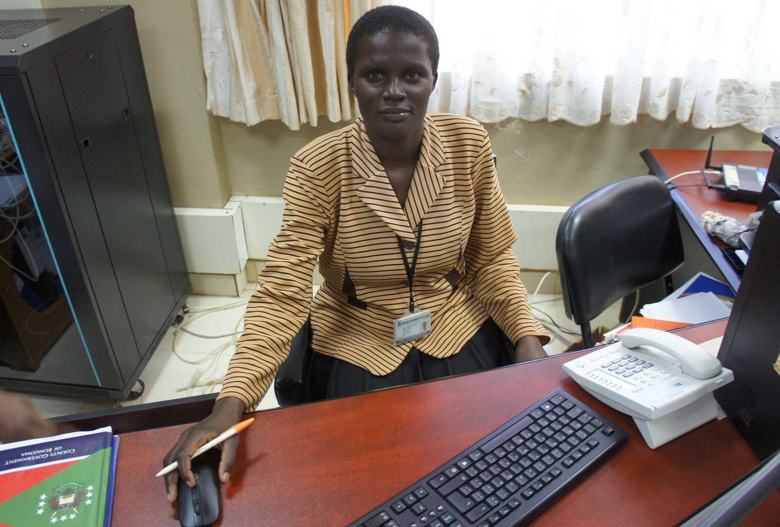 Staff in DVC ASA's Office