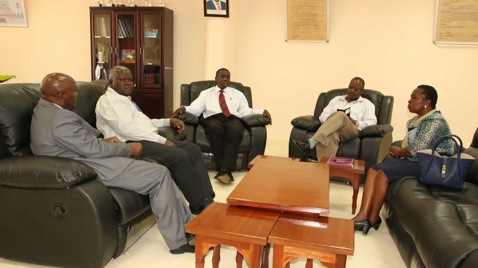 Ag. Vice Chancellor Murang'a University Visit Kibabii University