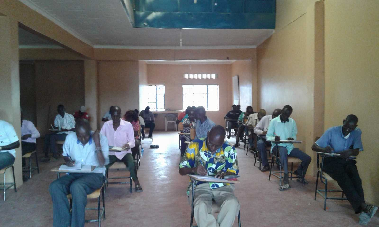 Turkana Learning Center Taking 2nd Semester 2016/2017 Exams