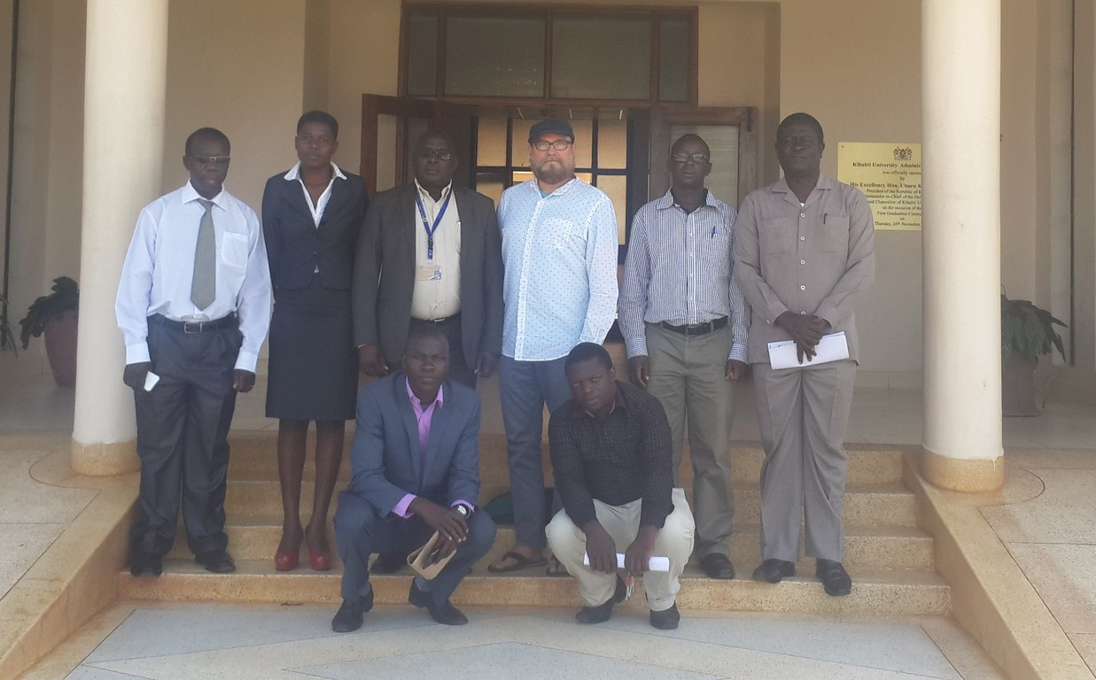 CEO of African Canadian Continuing Education Society (ACCES) Visit Kibabii University