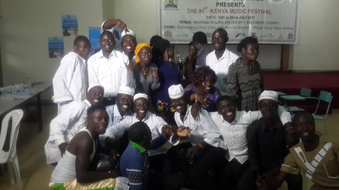Kibabii University Choir Performance at the 91st Kenya Music Festivals