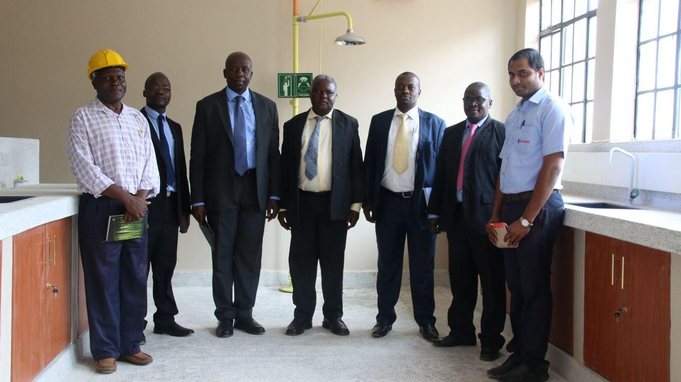 Equity Bank Officers Visit Kibabii University