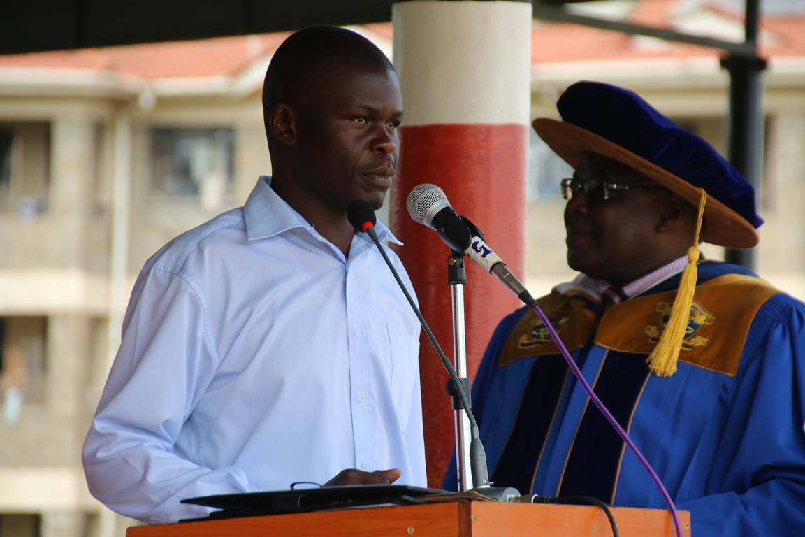 Vice Chancellor Address to New Students 2017/2018