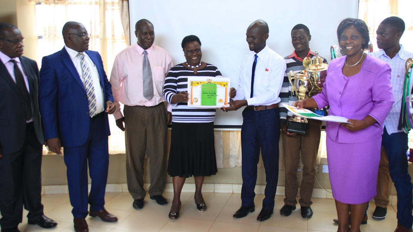 The Presentation of 91st Kenya Music Festival Award Winning Trophies and Certificate by Kibabii University Choir to the University Senate
