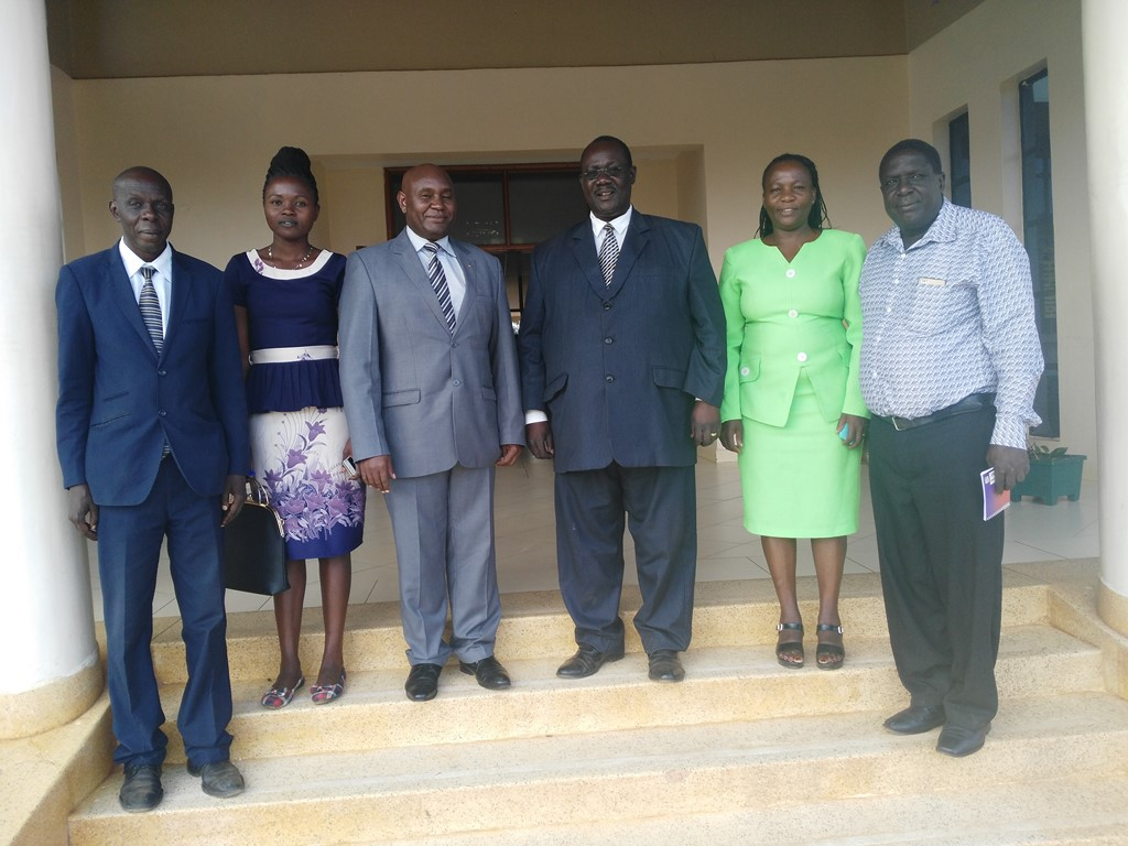 Bungoma Satelite ASK Officials Visit Kibabii University