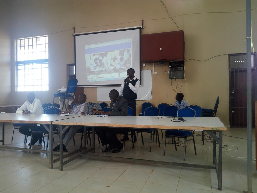 2017/2018 First Year Students during ICT Directorate Orientation