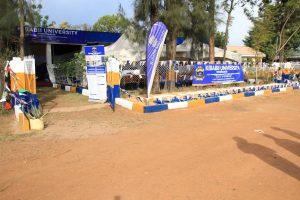Kibabii University Bungoma ASK Satellite Show 2017 Stand Inspectiona