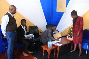 Kibabii University Bungoma ASK Satellite Show 2017 Stand Inspectionc