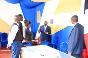 Kibabii University Bungoma ASK Satellite Show 2017 Stand Inspectione