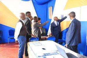 Kibabii University Bungoma ASK Satellite Show 2017 Stand Inspectionf