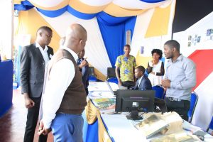 Kibabii University Bungoma ASK Satellite Show 2017 Stand Inspectiong