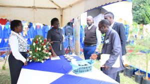 Kibabii University Bungoma ASK Satellite Show 2017 Stand Inspectioni