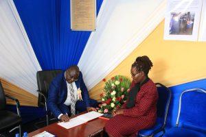 Kibabii University Bungoma ASK Satellite Show 2017 Stand Inspectionl