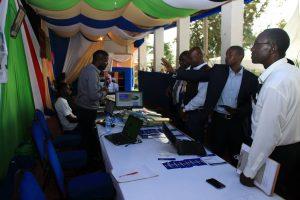 Kibabii University Bungoma ASK Satellite Show 2017 Stand Inspectionn