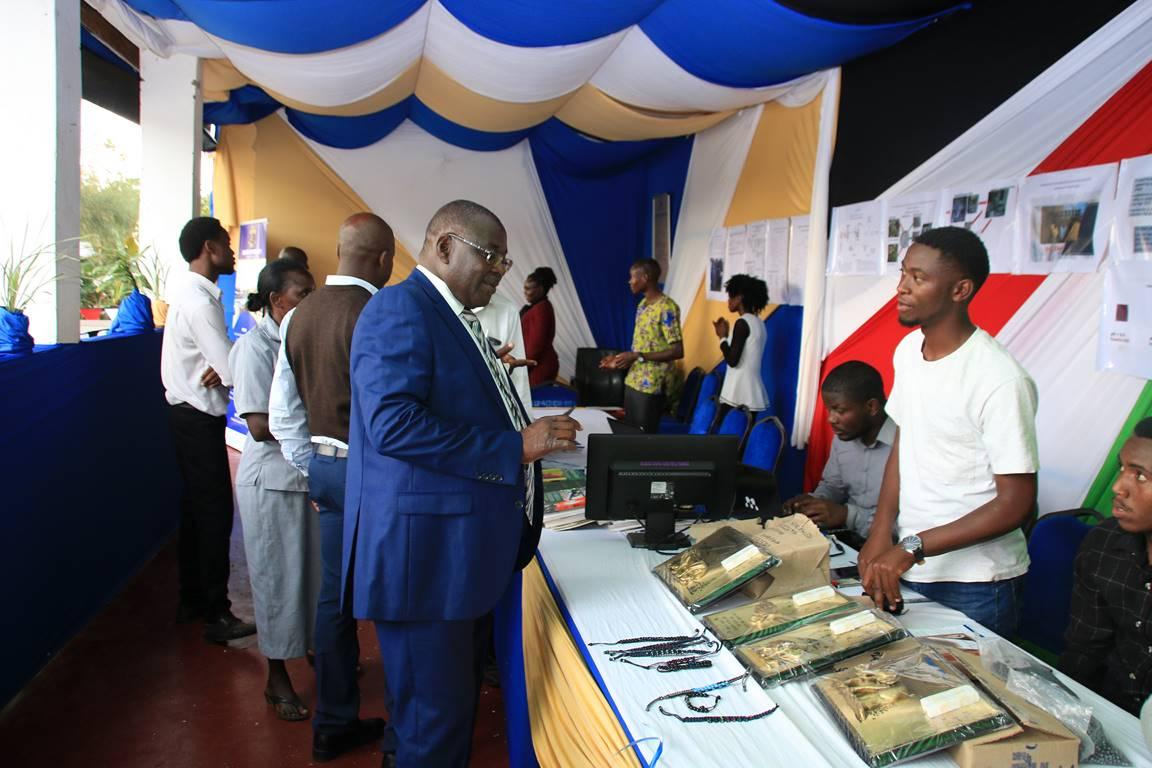 Kibabii University Bungoma ASK Satellite Show 2017 Stand Inspection