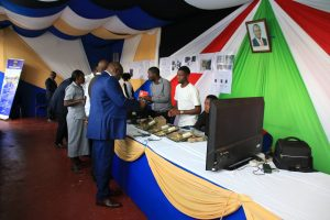 Kibabii University Bungoma ASK Satellite Show 2017 Stand Inspectionr