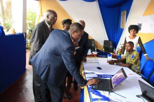 Kibabii University Bungoma ASK Satellite Show 2017 Stand Inspections
