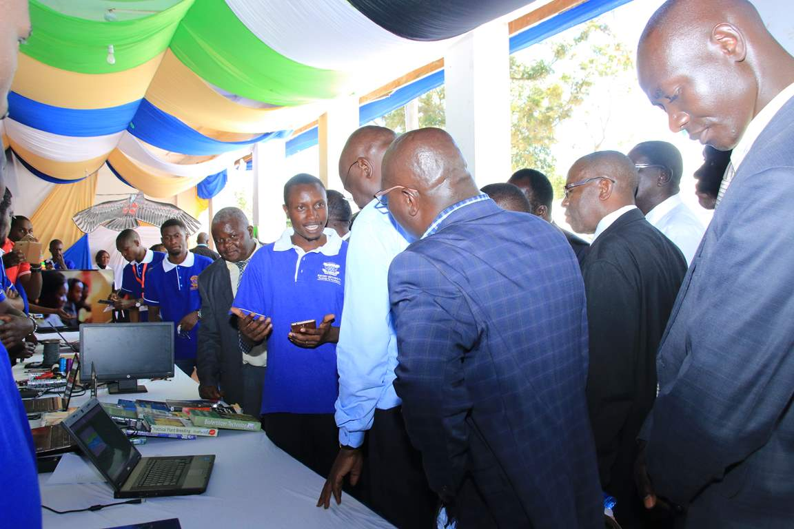 Showcasing Innovative Mobile Applications at the Bungoma A.S.K Satellite Show 2017
