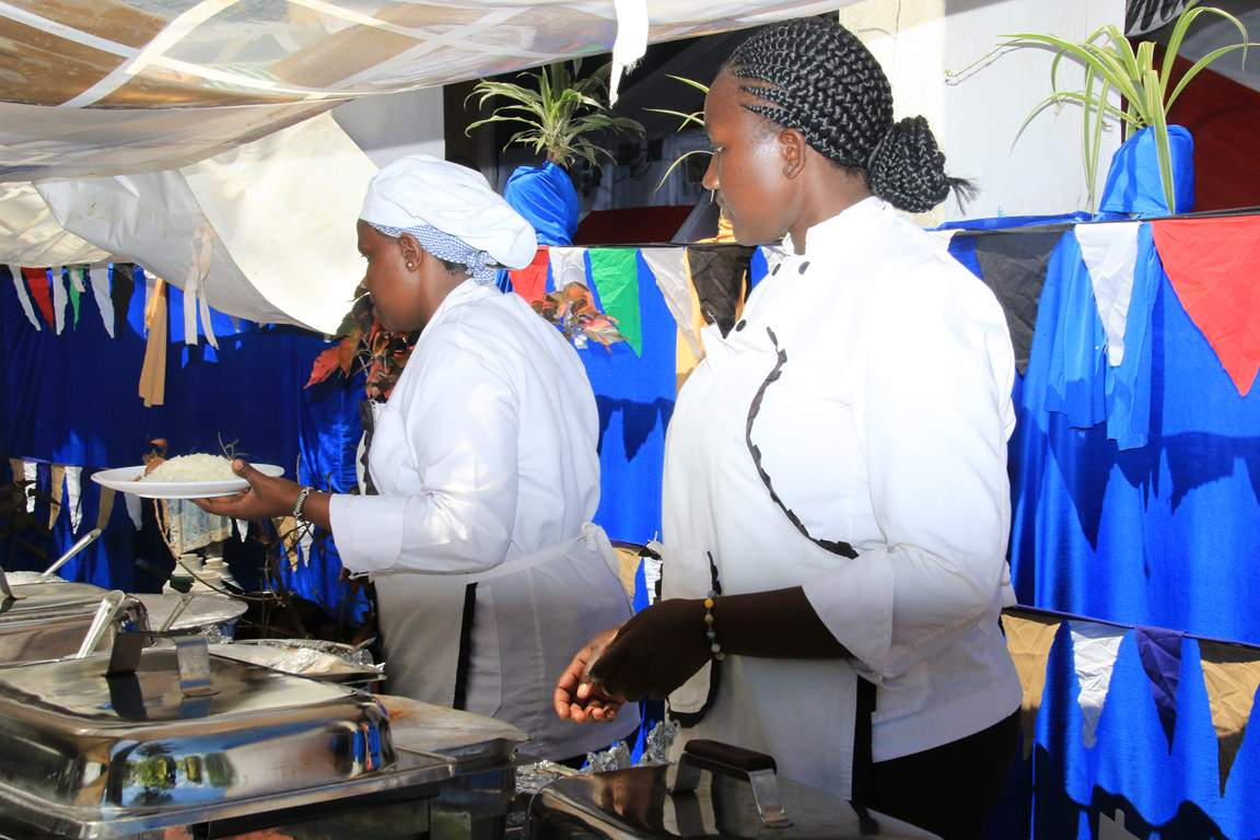 Kibabii University Catering Department Represented during the Bungoma A.S.K Satellite Show 2017