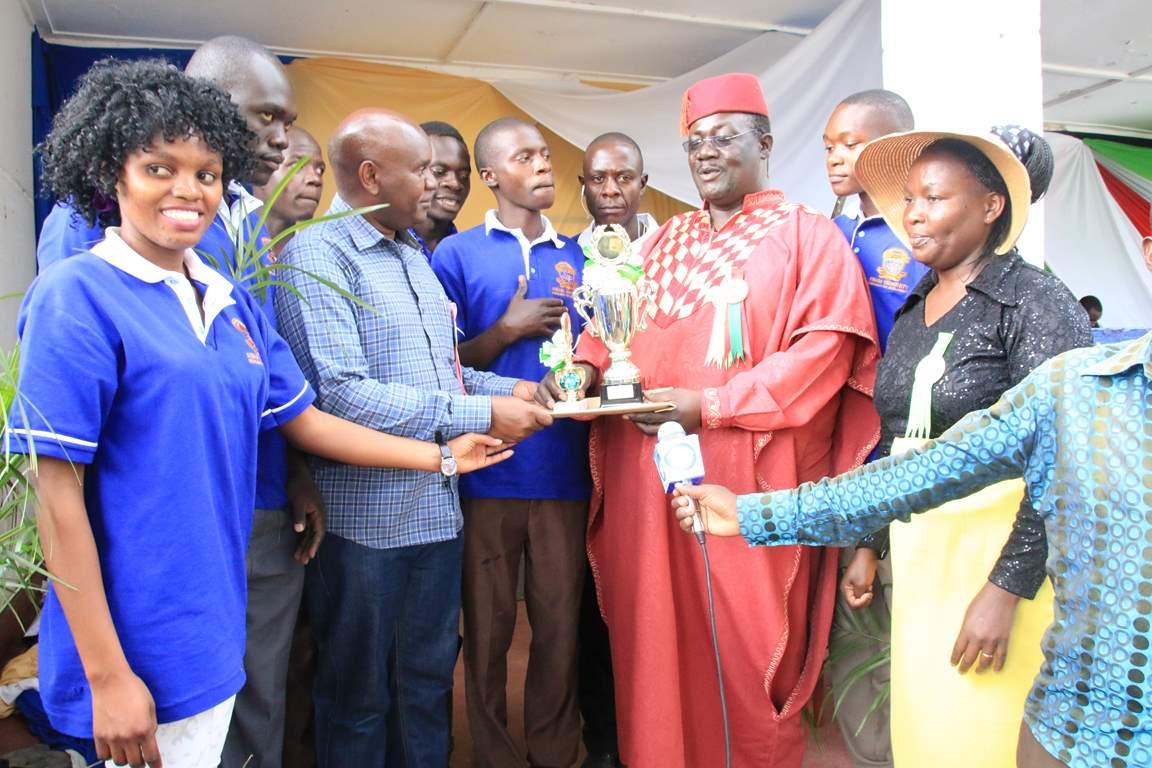 Kibabii University Receive Awards at Bungoma A.S.K Satellite Show 2017