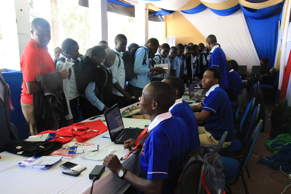 Kibabii University Bungoma ASK Satellite Show 2017 Stand