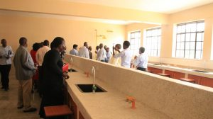 Official Handing Over of Phase II Education Block10