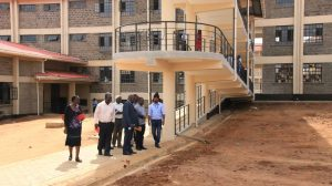 Official Handing Over of Phase II Education Block11
