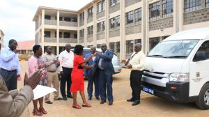 Official Handing Over of Phase II Education Block13