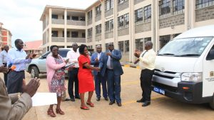 Official Handing Over of Phase II Education Block14