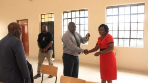 Official Handing Over of Phase II Education Block16