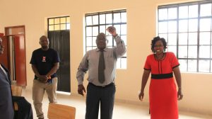 Official Handing Over of Phase II Education Block17