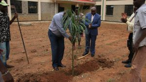 Official Handing Over of Phase II Education Block19