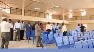 Official Handing Over of Phase II Education Block6