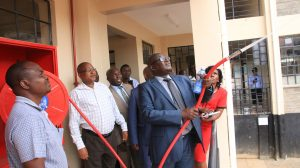 Official Handing Over of Phase II Education Block9