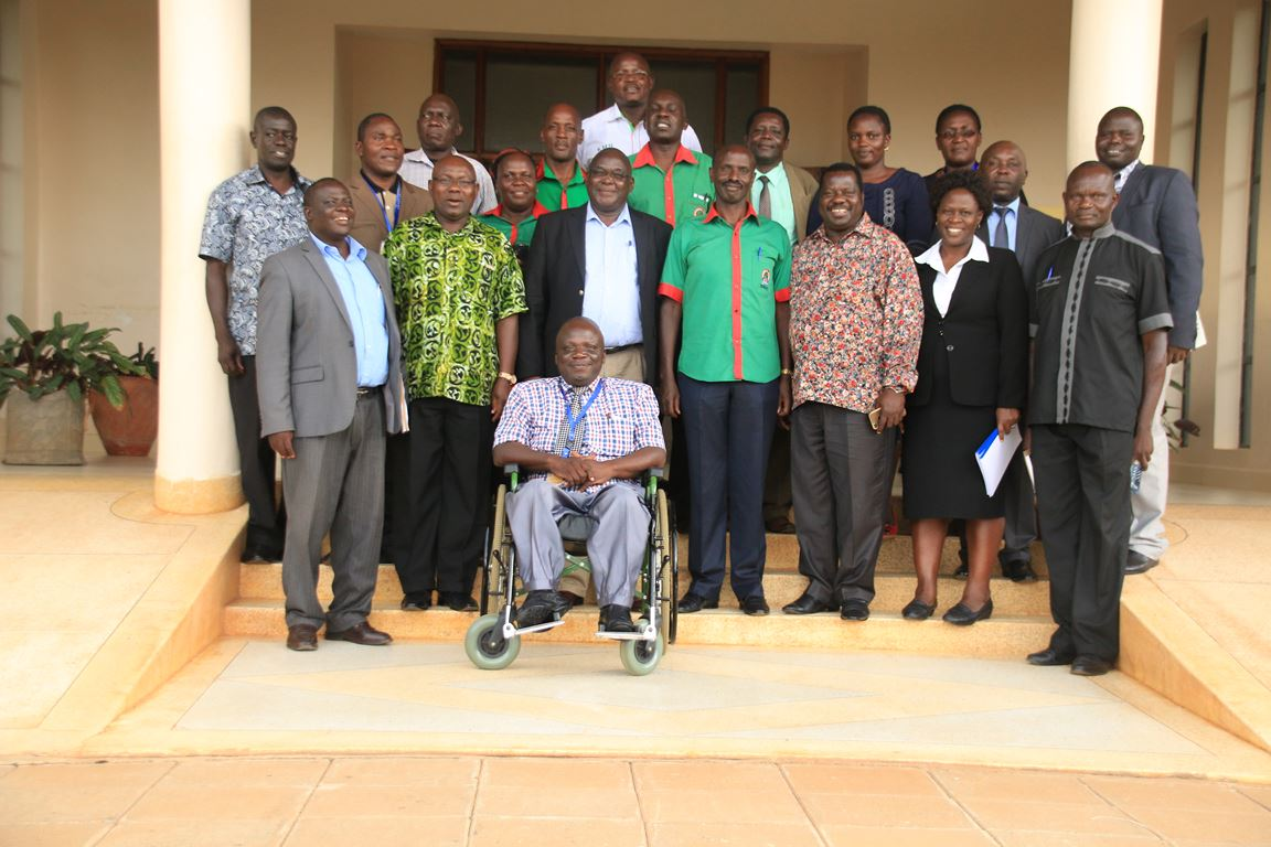 Signing of MoU between Kibabii University and Kenya National Union of Teachers(KNUT)