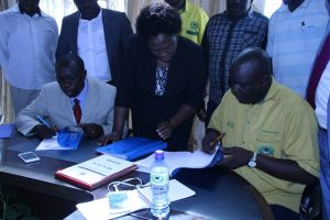 Signing of MoU between Kibabii University and Kenya Union of Post Primary Education Teachers KUPPET7