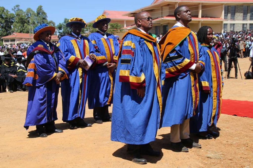 Kibabii University 2nd Graduation Ceremony Gallery