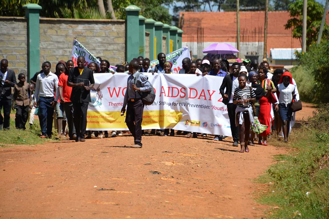 Kibabii University Marked World AIDS Day