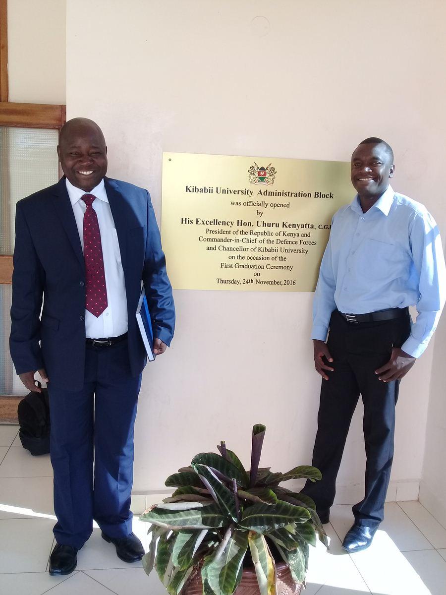 Union Representatives of Kibabii University Chapter KUSU and UASU
