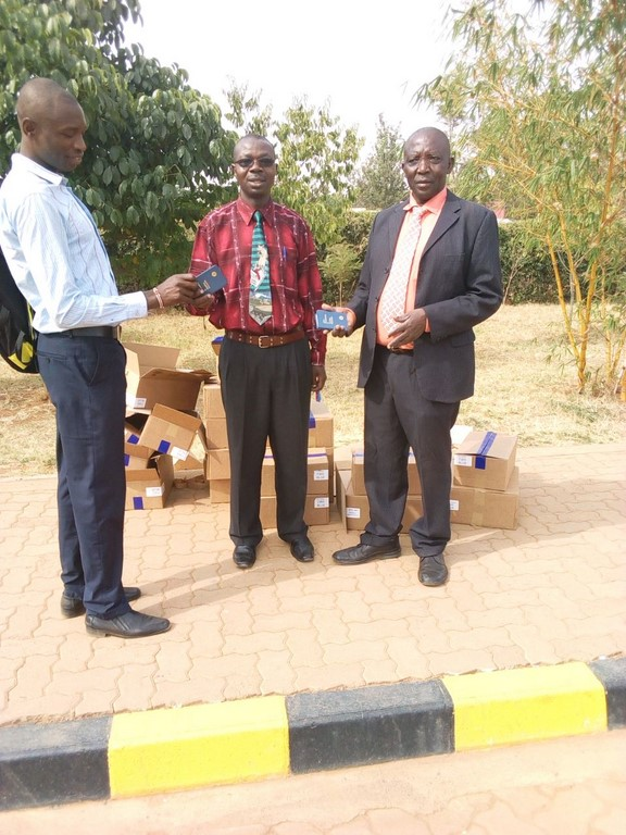 Distribution of Bibles to Kibabii University