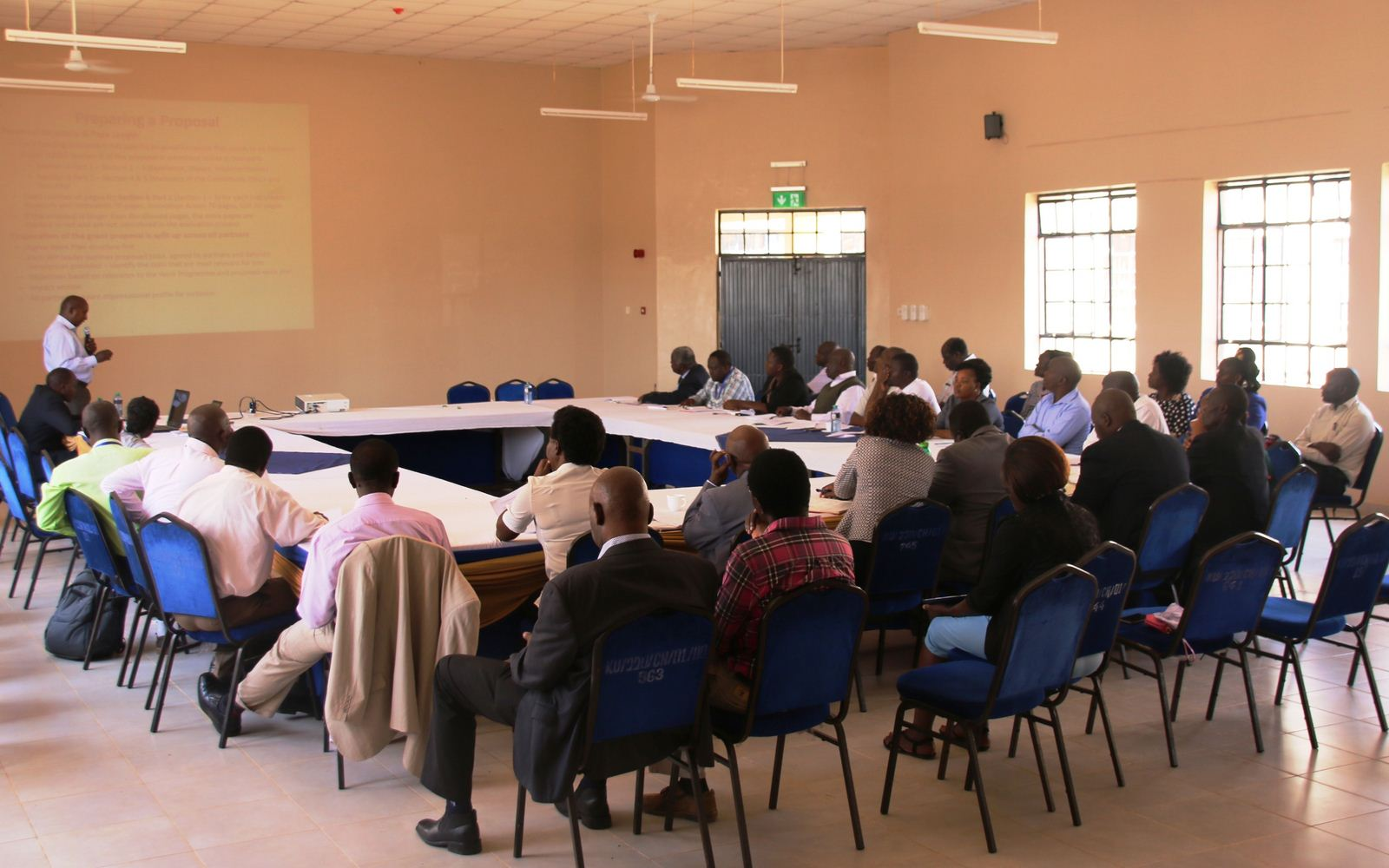 Kibabii University Training on Mobilization and Awareness Creation on the Upcoming EU's Funding Schemes on Horizon 2020