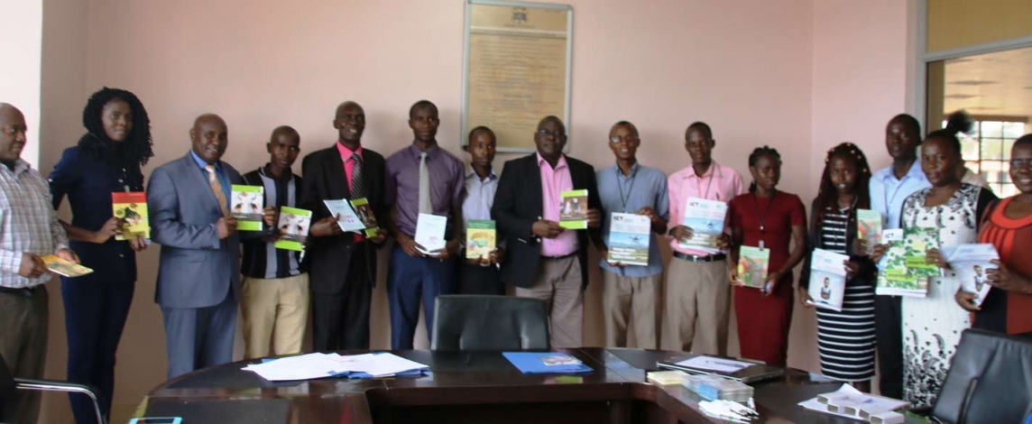 Technical Centre for Agricultural and Rural Cooperation Donation to Kibabii University4